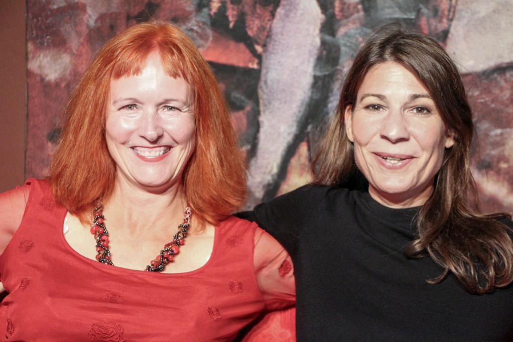 Carola von Seckendorff und Cornelia Kupferschmidt